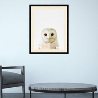 Amanti Art Owl Framed Wall Art