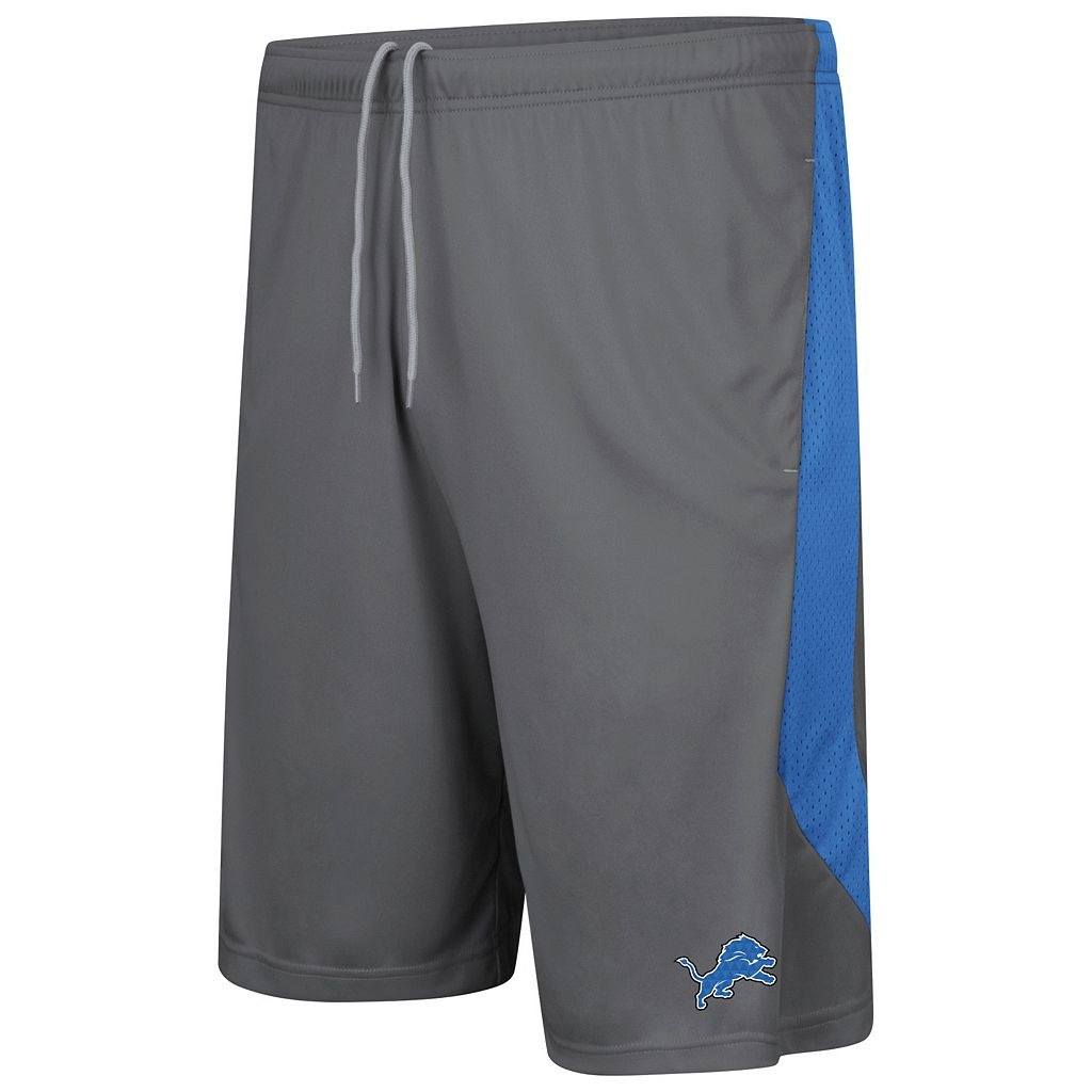 Men's Majestic Detroit Lions Last Rally Shorts