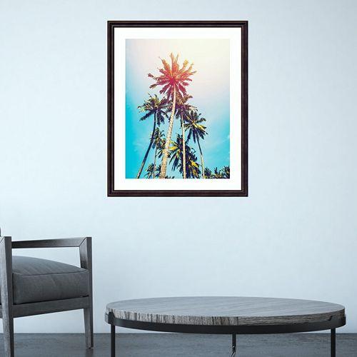 Amanti Art Palms In The Sun Framed Wall Art