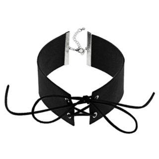 Mudd® Lace Up Collar Choker Necklace