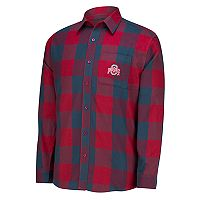 Men's Ohio State Buckeyes Run Around Button-Down Shirt