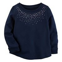 Girls 4-8 Carter's Sparkle Neck Top