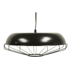 Decor Therapy Steel Cage Pendant Light