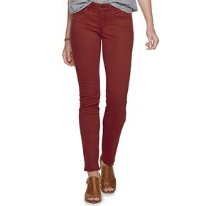 Women's SONOMA Goods for Life? Supersoft Midrise Sateen Skinny Pants