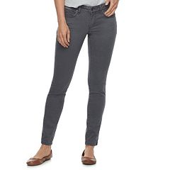 Women's SONOMA Goods for Life™ Supersoft Midrise Sateen Skinny Pants