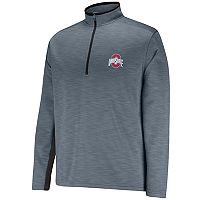 Men's Ohio State Buckeyes First Down II Half-Zip Fleece Pullover