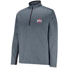 Men's Ohio State Buckeyes First Down II Half-Zip Fleece Pullover