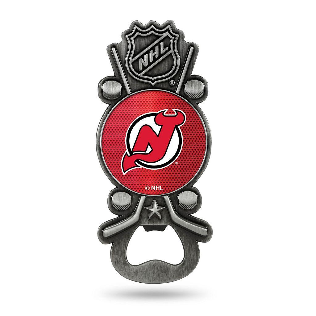 New Jersey Devils Party Starter Bottle Opener Magnet