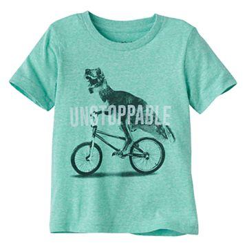 Toddler Boy Jumping Beans® Dinosaur & Bike