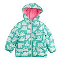 Girls 4-6x Carter's Polar Bear Puffer Jacket