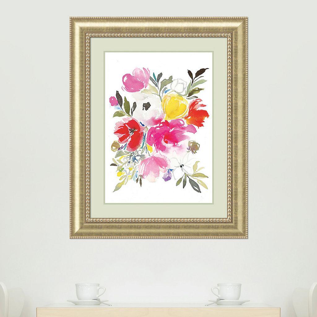 Amanti Art Pink Expression Framed Wall Art