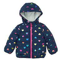 Girls 4-6x Carter's Heart Puffer Jacket