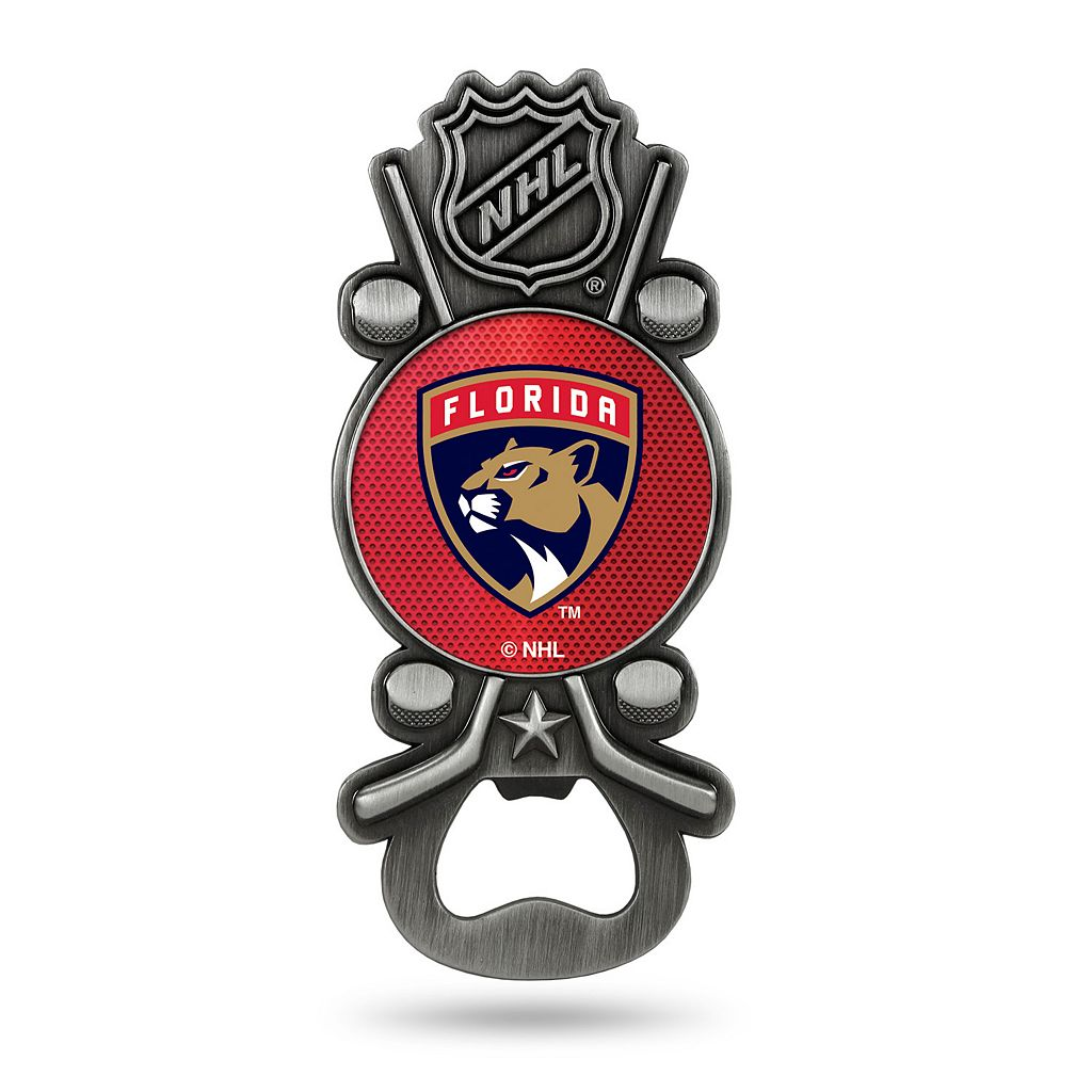 Florida Panthers Party Starter Bottle Opener Magnet