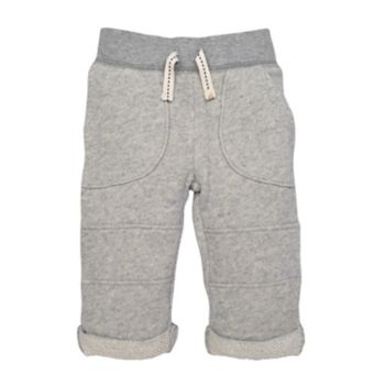 Toddler Boy Burt's Bees Baby Organic Terry Rolled Cuff Pants