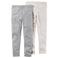 Girls 4-8 Carter's 2-pk. Leggings