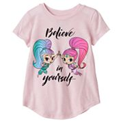 Toddler Girl Jumping Beans® Shimmer & Shine 'Believe In Yourself' Graphic Tee