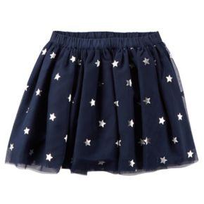 Girls 4-8 Carter's Stars Tutu Skirt