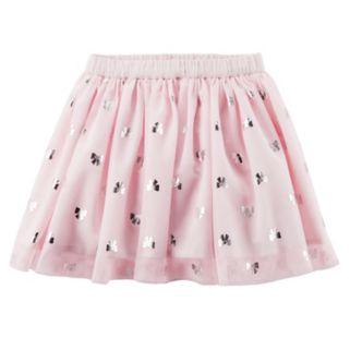 Girls 4-8 Carter's Foil Bow Tutu Skirt