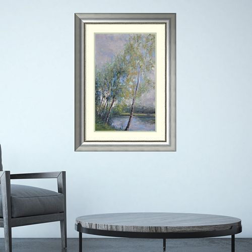 Amanti Art Poetry On Riverbank Framed Wall Art