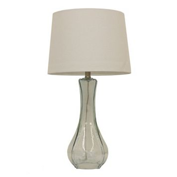Decor Therapy Glass Table Lamp