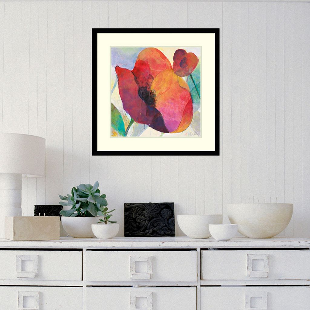 Amanti Art Poppy I Framed Wall Art