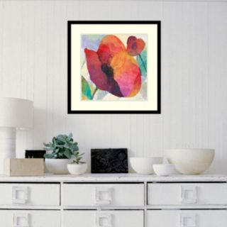 Amanti Art Poppy I Framed Wall Art