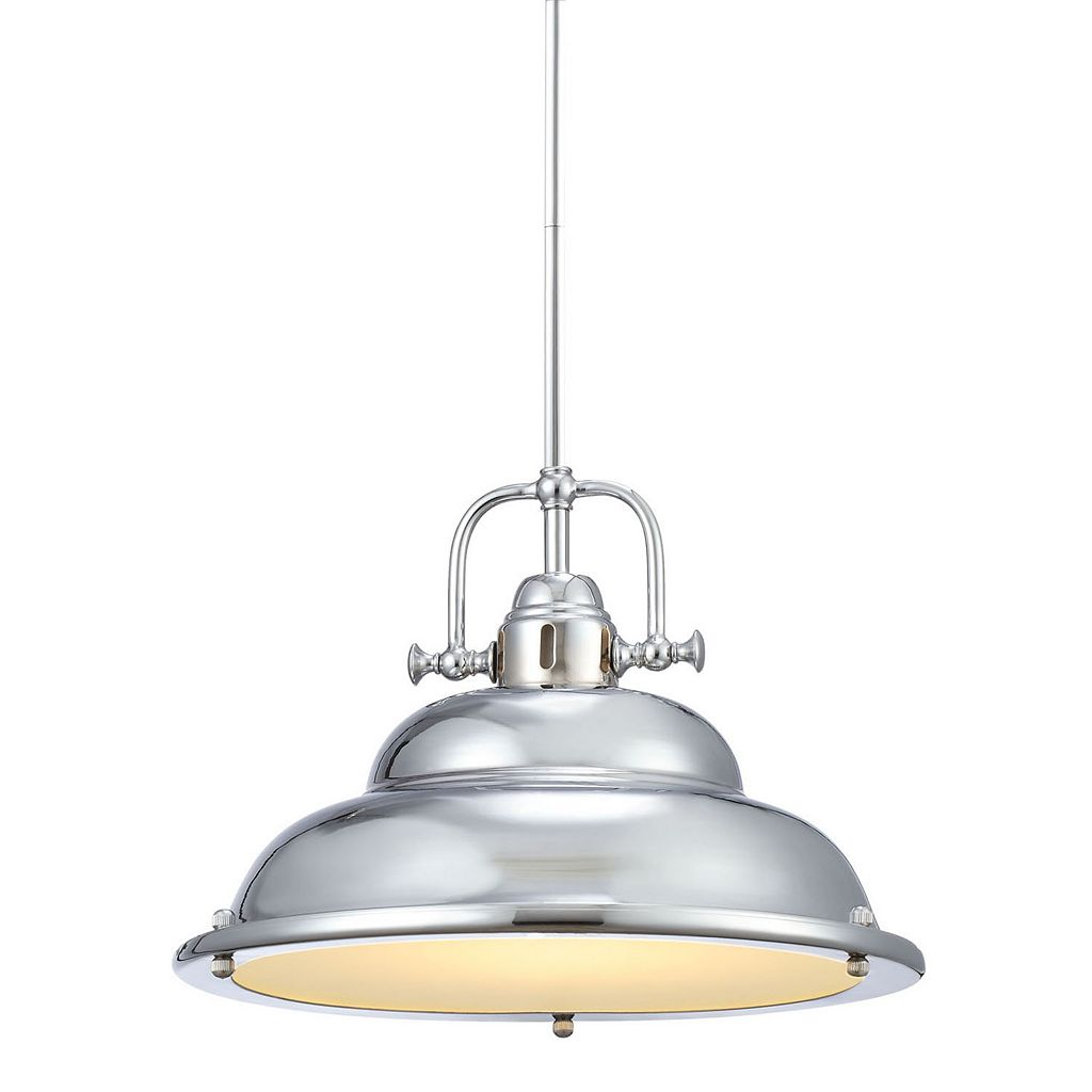 Decor Therapy Soho Mini Steel Pendant Light