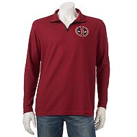 Men's Marvel Hero Elite Deadpool Quarter-Zip Top