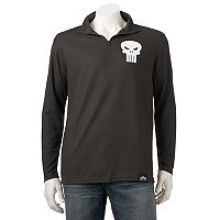 Men's Marvel Hero Elite Punisher Quarter-Zip Top
