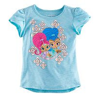 Baby Girl Jumping Beans® Shimmer & Shine Glittery Graphic Tee