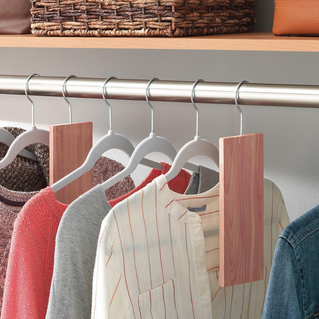 Whitmor Cedar Closet Organizer Set