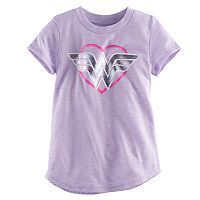 Baby Girl Jumping Beans® Wonder Woman Heart Graphic Tee