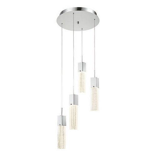 Decor Therapy 4-Light LED Pendant Chandelier