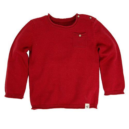 a3644cdbc Toddler Boy Burt s Bees Baby Organic Pocket Sweater
