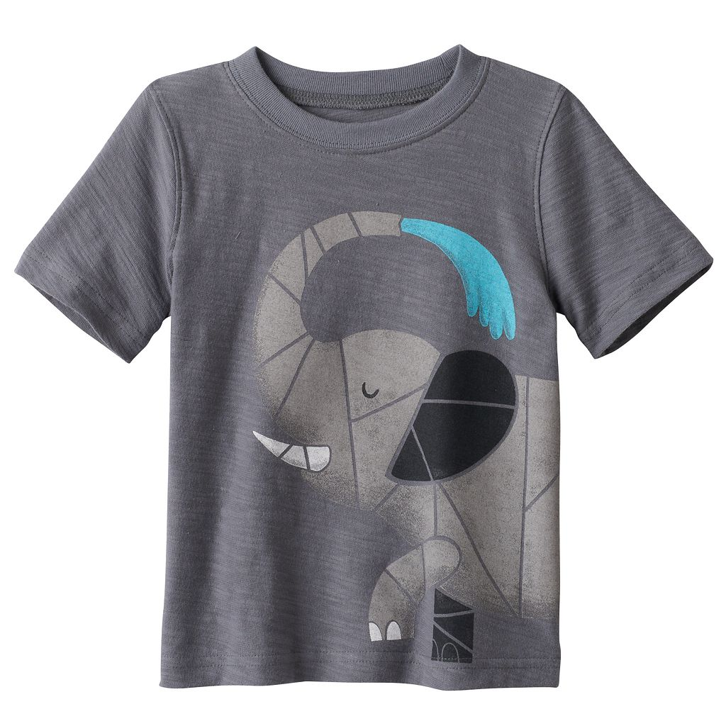 Baby Boy Jumping Beans® Wrap-Around Graphic Tee