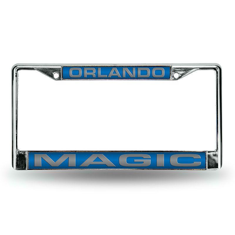 Orlando Magic License Plate Frame. Blue