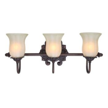 Decor Therapy 3-Light Vanity Wall Lamp