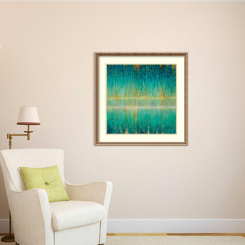 Amanti Art Rain Abstract I Framed Wall Art