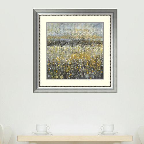 Amanti Art Rain Abstract II Framed Wall Art