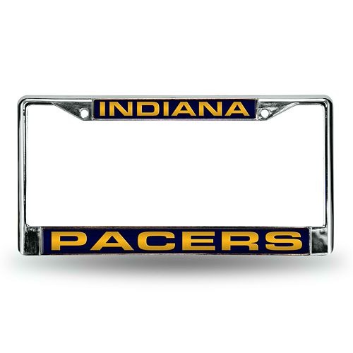 Indiana Pacers License Plate Frame