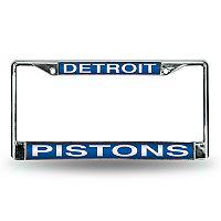 Detroit Pistons License Plate Frame