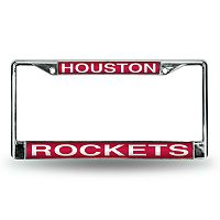Houston Rockets License Plate Frame