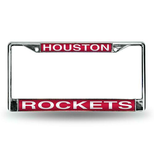Houston Rockets License Plate Frame