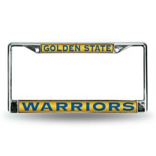 Golden State Warriors License Plate Frame