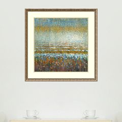 Amanti Art Rains Over The Lake Framed Wall Art