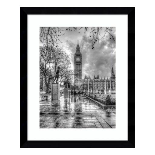 Amanti Art Rainy Day London Framed Wall Art