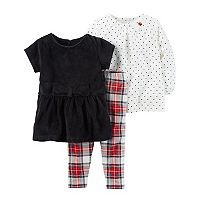 Toddler Carter's 3-pc. Holiday Set