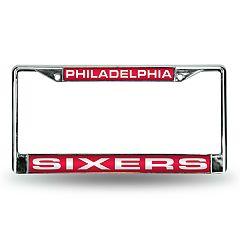Philadelphia 76ers License Plate Frame