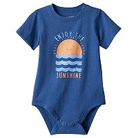 Baby Boy Jumping Beans® Textured Bodysuit