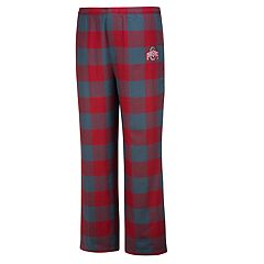 Men's Ohio State Buckeyes Dreamer Flannel Lounge Pants